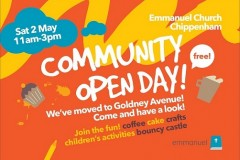 Community Open Day invitation